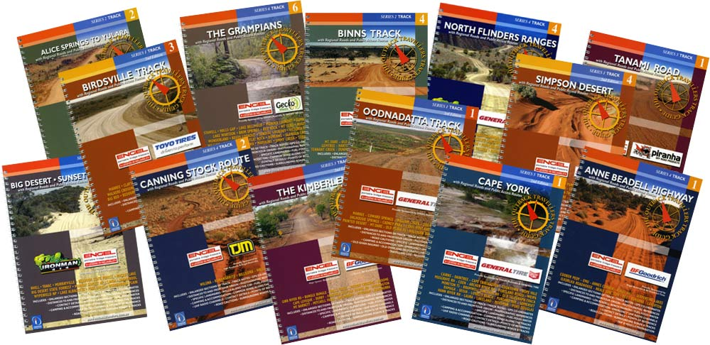 samples of the 6 series map guides