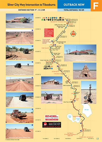 sample page of Outback New South Wales