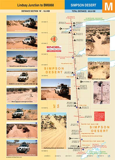 sample page of Simpson Desert