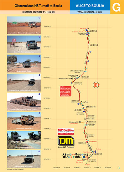 sample page of Alice Springs To Boulia