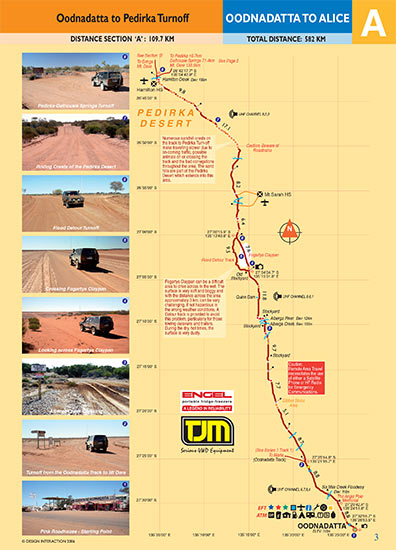 sample page of Oodnadatta To Alice Springs