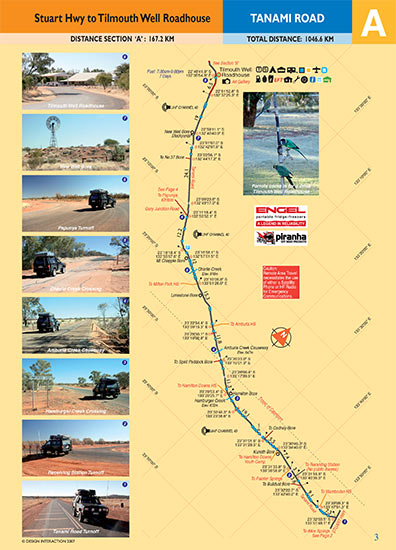 sample page of Tanami Road