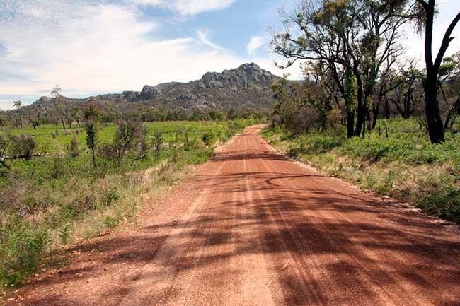 photo of the Grampians